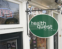 Uithangbord health quest