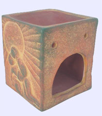 oildiffuser ceramic-egyptian-hut